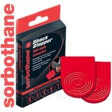 Sorbothane Shock Stopper Heel pads: 3-5