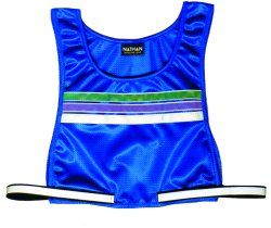 Nathan Women's Deluxe Lightweight Reflective Top: Large: Purple