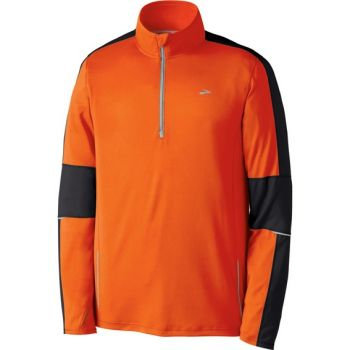 Brooks Nightlife Essential Run LS 1/2 Zip Top